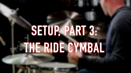 The Ride Cymbal